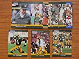Green Bay Packers 1990 Pro Set Football Master Team Set * Includes all cards from series 1, series 2 and the final update set* (29 Cards)**Tony Bennett, Dave Brown, LeRoy Butler, Brent Fullwood, Ron Hallstrom, Tim Harris, Johnmy Holland, Jerry Holmes, Lindy Infante, Chris Jacke, Perry Kemp, Mark Lee, Don Majkowski, Tony Mandarich, Mark Murphy, Brian Noble, Jeff Query, Ken Ruettgers, Sterling Sharpe, Darrell Thompson, Alan Veingrad, Ed West,Keith Woodside**