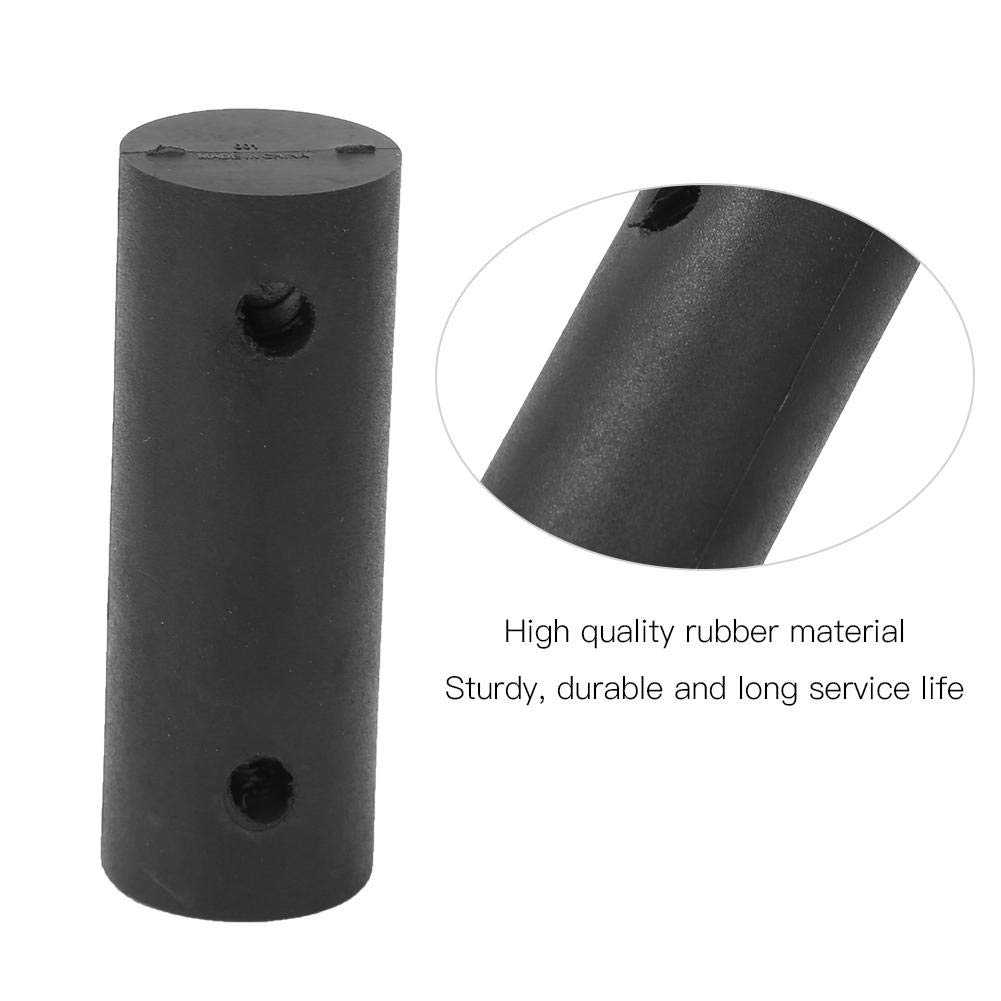2 Pack Black Lightweight Strong Black Rubber Windsurfing Mast Foot Spare Tendon