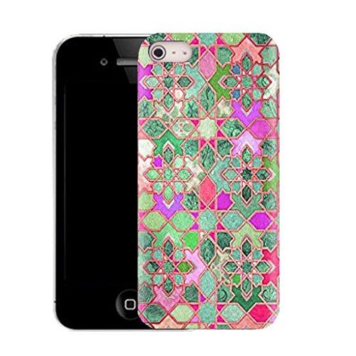 Mobile Case Mate IPhone 4 4S clip on Dur Coque couverture case cover avec Stylet - garnet Motif