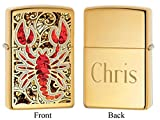 Personalized Scorpion Zippo Lighter with Free Engraving