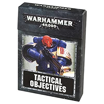 Tactical Objectives Warhammer 40,000 Card Set from Games Workshop