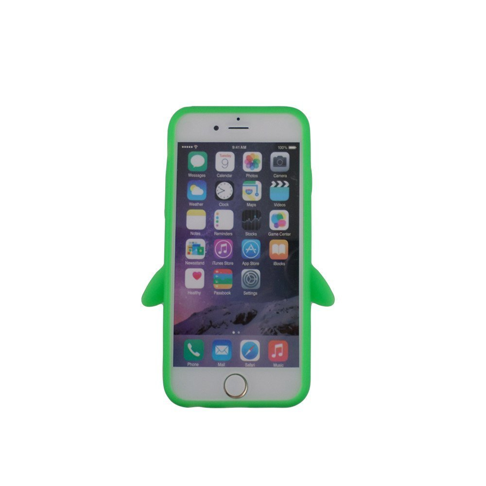timeless design 98a3e 18653 Amazon.com: iPhone 7 Plus Silicone case, Anya 3D Cartoon Animal ...
