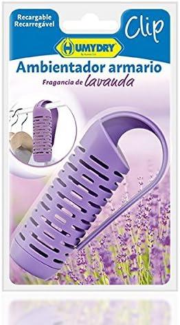 HUMYDRY® Ambientador Clip Armario con Fragancia de Lavanda: Amazon.es: Hogar