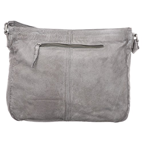 Londoner Shoulder 34 Fredsbruder Cm Bag Gray Ocean Skin q6Wd5xdw