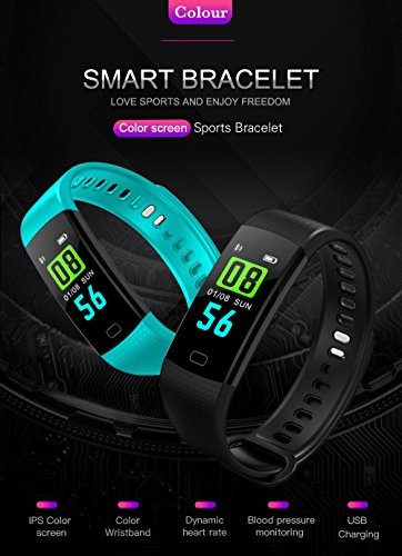 Y5 smart bracelet, heart rate, blood pressure, oxygen monitoring, stopwatch, color screen font, student lovers gift wholesale