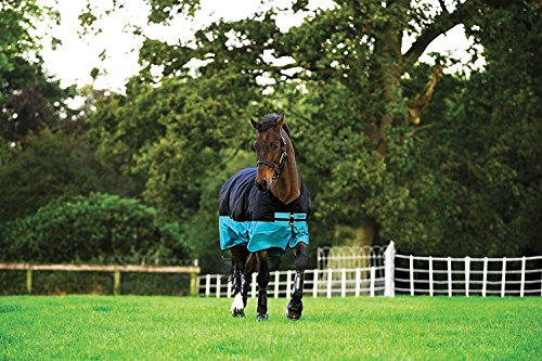 AMIGO Mio Turnout Sheet Lite 78 Black/Turquoise