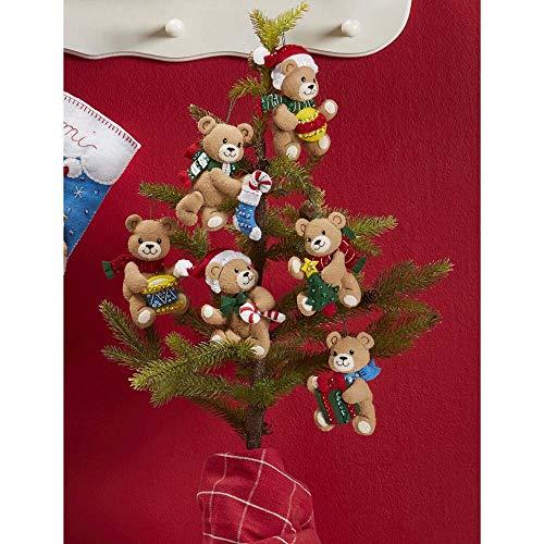 (Bucilla Santa & Teddy Felt & Sequin Kit)