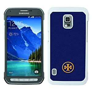 Beautiful Samsung Galaxy S5 Active Screen Cover Case ,Tory Burch 69 White Samsung Galaxy S5 Active Cover Fashionabe And Durable Designed Phone Case