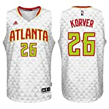 Kyle Korver Atlanta Hawks #26 White Youth NBA Swingman Home Jersey Small 8