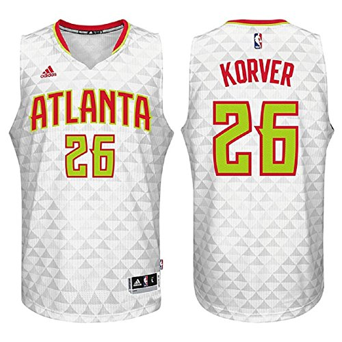 Kyle Korver Atlanta Hawks #26 White Youth NBA Swingman Home Jersey Small 8 by adidas