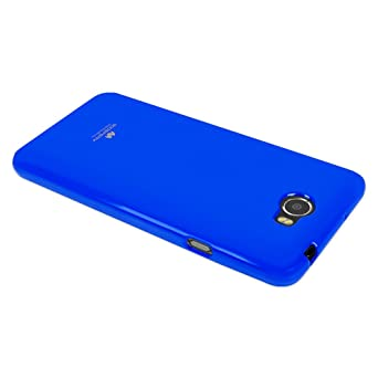 Amazon.com: GOOSPERY Marlang Marlang Huawei Y5 II case - Navy Blue, Free Screen Protector [Slim Fit] TPU Case [Flexible] Pearl Jelly [Protection] Bumper ...