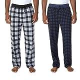 Nautica Men's 2-pack Fleece Pant (Mood Indigo, Medium)