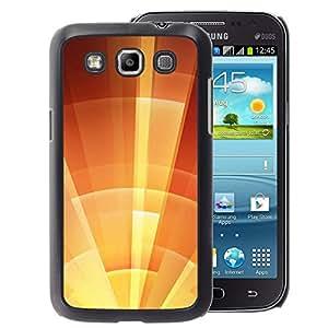 A-type Arte & diseño plástico duro Fundas Cover Cubre Hard Case Cover para Samsung Galaxy Win I8550 (Star Sun Shield Orange Summer Sunny)