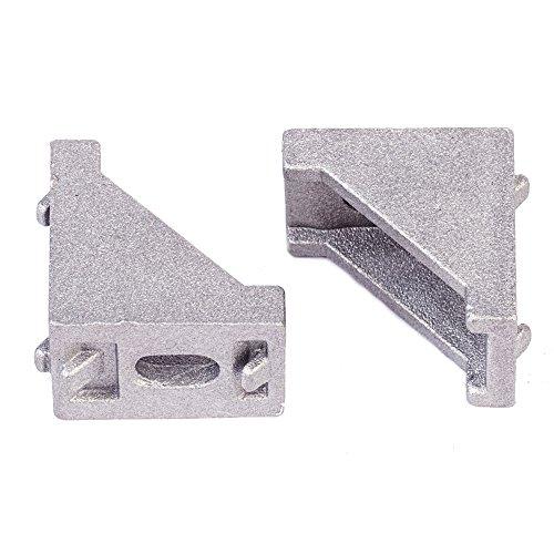 MASUNN Flsun 12Pcs 2028 Corner Joint Renforcé Pour Imprimante 3D 2020 Armature En Aluminium