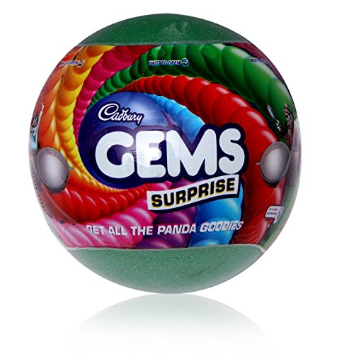 Cadbury Gems Surprise Ball with a Surprise Toy - India