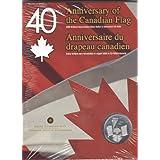 2005 Brilliant Uncirculated Silver Dollar & Interactive CD Canadian/Canada Flag