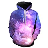 CMrtew ❤️ Men's Autumn Winter Casual 3D Print Long Sleeve Hooded Sweatershirt Top Blouse (Multicolor, 5XL)