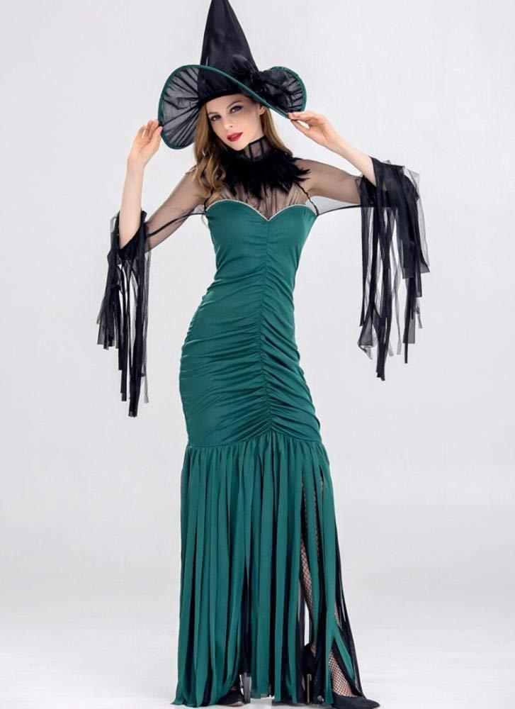 Ambiguity Halloween Damen kostüm Halloween-Hexe Kostüm Dessous Kleid Prom Thema Party Kostüm