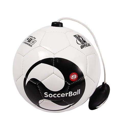 Générique - Balón de fútbol de Entrenamiento con Goma elástica ...