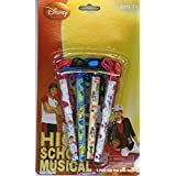 Disney High School Musical Pen Set- 4pack Clip Pen with Rope