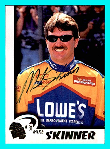 (1997 Press Pass AUTOGRAPH #40 Mike Skinner NASCAR RACING )