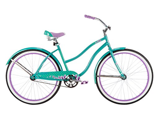 Huffy Bicycle Company Women's Good Vibrations Cruiser Bike, 26