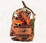Orange Pomander Dried Potpourri Made with Sprigs of Cedar, Berries, Organic Spices and Pure Essential Oils of Orange and Clove. Packaged in 3cup size bag with Label.