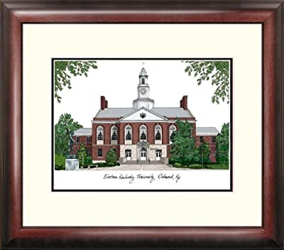 "Campus Images ""Eastern Kentucky University Alumnus Framed Lithographic Print"