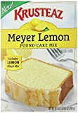 Krusteaz Meyer Lemon Pound Cake Mix, 16.5-Ounce Boxes (Pack of 12)