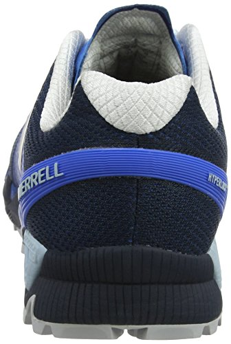 Merrell Mens Agility Topp Flex 2 E-mesh Gymnastiksko Directoire Blå