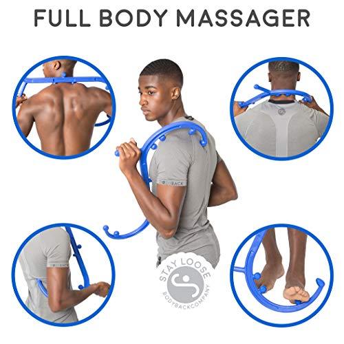 Body Back Buddy Back Massager, Handheld Massage Stick -6295