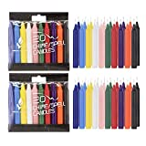 colored candles - Mega Candles - Unscented 4