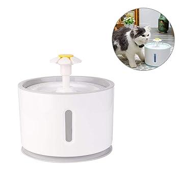 ckground Cat Dispenser Pet Supplies Alimentación Agua Que Fluye Fuente Cuenca de Agua Viva, Dispensador de Agua Perro Mascota Circulación automática: ...