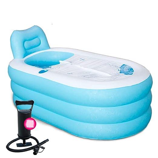 Inicio practica bañera Bañera hinchable gruesa para adultos con ...