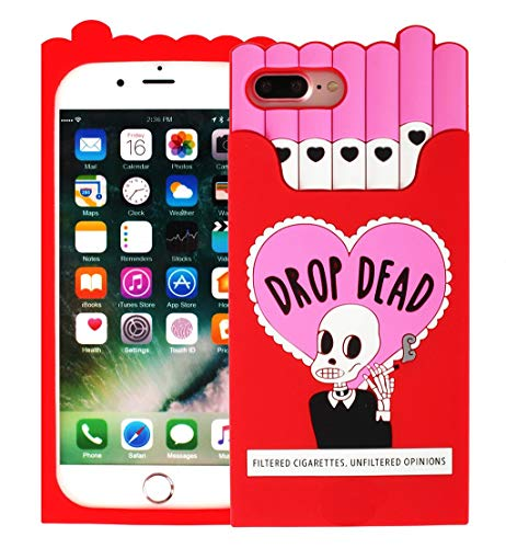 Iphone 7 Plus Cartoon Silicone Case,Lovely Animals Design 3D Cartoon Character Phone Bags Soft Rubber Cover for Apple iphone 7 Plus