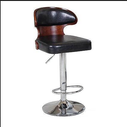 Furniture European Bar Stool Chair Lift Chair Rotating Bar Chair Simple Home Backrest High Stool Cashier Chair
