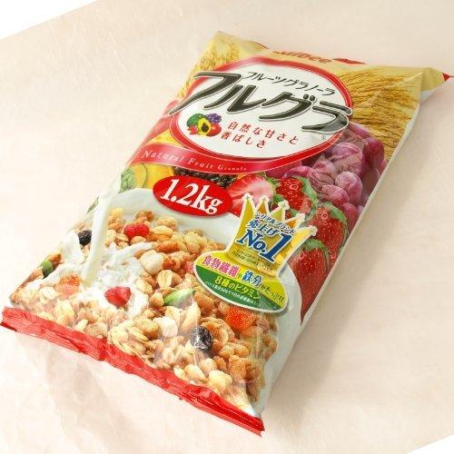 Calbee Calbee fruit granola serial Furughllha 1kgX2 bags by Karubi