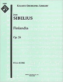 {{FB2{{ Finlandia, Op.26: Full Score [A2045]. interior Jerkin Hertz JERSEY eelise country Equipo nachste