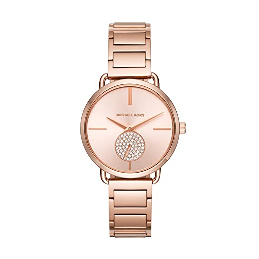2ea781548b7b Buy Michael Kors Analog Rose Gold Dial Women s Watch - MK3640 Online at Low  Prices in India - Amazon.in