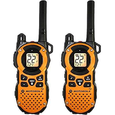 Motorola MT350R FRS Weatherproof Two-Way - 35 Mile Radio 4 Pack - Orange