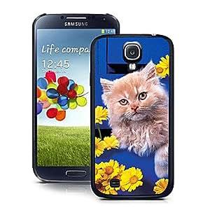 Patrón del gato caso del efecto 3d para Samsung 9500