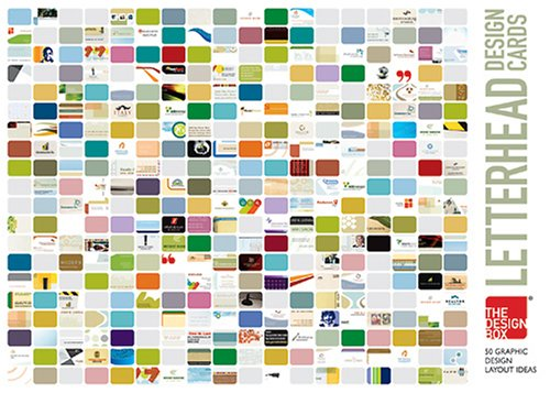 Read Online The Design Box Letterhead Design Cards: 50 Graphic Design Layout Ideas ebook
