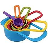 11PCS/set Kitchen Measuring Spoons Measuring Cups Spoon Cup Kit Measuring Spoons Bakeware Kitchen Tools Baking Utensil Set