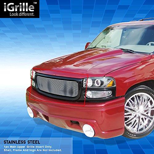 (Off Roader Stainless Steel eGrille Billet Grille Grill for 00-06 GMC Yukon/Yukon Denali/99-02 Sierra)