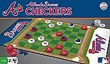 MasterPieces MLB Atlanta Braves Checkers Board Game