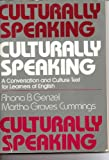 Culturally Speaking, Rhona B. Genzel and Martha Cummings, 0838428142