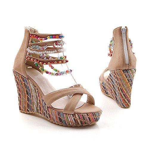 Womens Wedge Sandals US 5.5 K5YBCfU