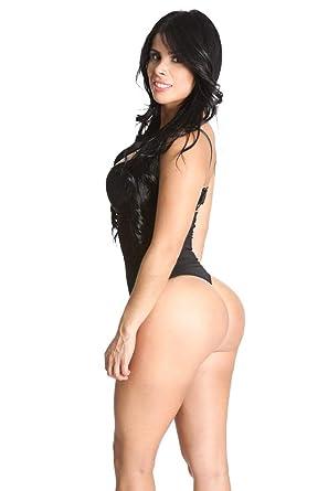 2827a70417854 SHAPEX High Waist Thong Back Full Body Shaper Tummy Hip Control Thong Black  2XL 3XL