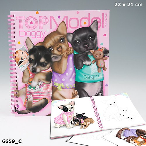 Depesche 7825   Top Model Doggy Malbuch: Amazon.de: Spielzeug