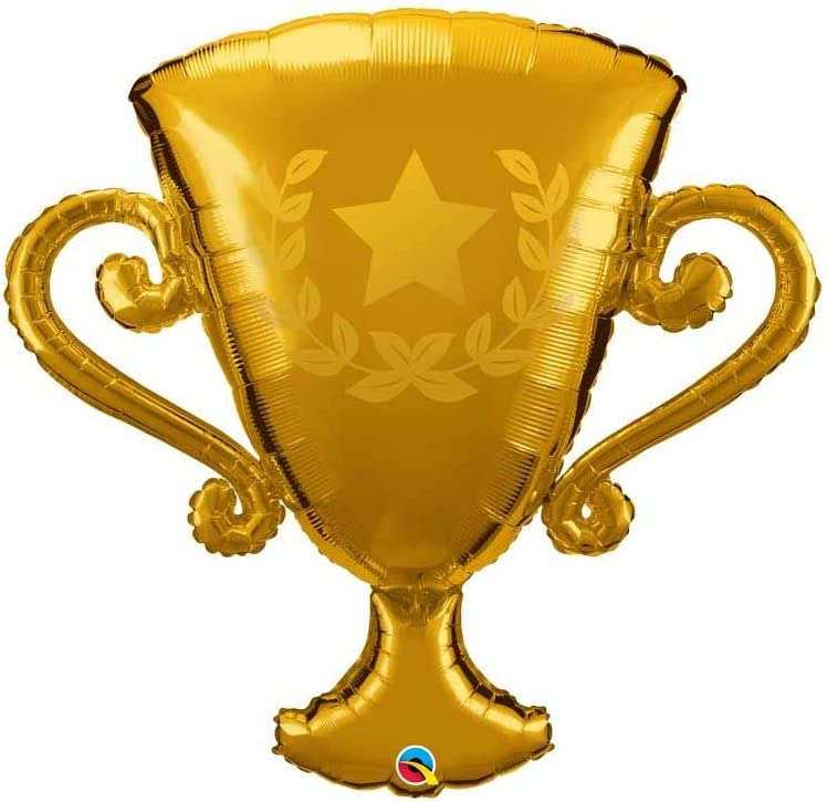 Globo de papel de aluminio Golden Trophy de 39 pulgadas: Amazon.es: Hogar